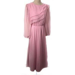 Gorgeous vintage blush Easter Dress